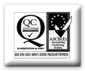 Accreditation: ISO 9001